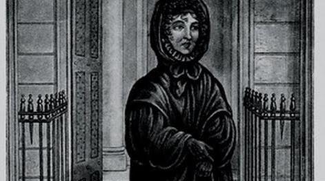 Black nun of Bank