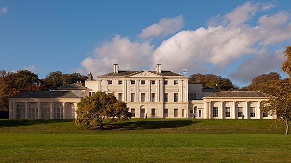 Kenwood House in Hampsted Heat