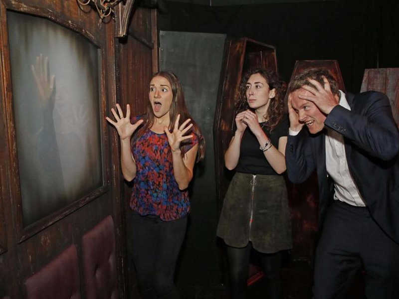 London Dungeon vagone death express con bare