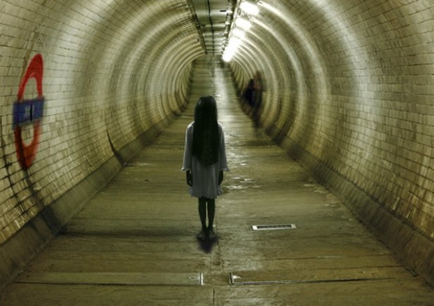 ghost child in the london underground