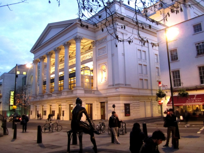 Royal Opera House in Convent Garden