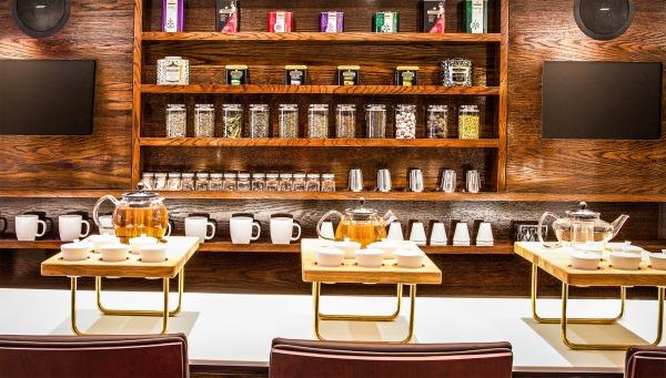 Tea room Twinings shop