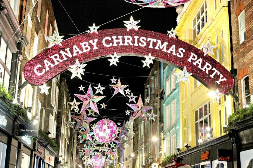 Carnaby Christmas Light_London