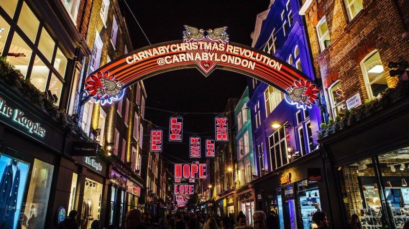 Carnaby Christmas Light_ Carnaby luci natalizie