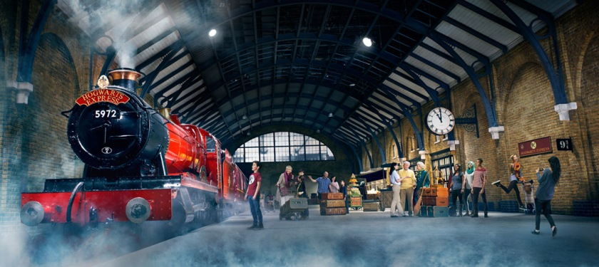 Hogwarts express Harry Potter warner bross studios in London