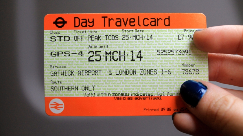 London day travelcard