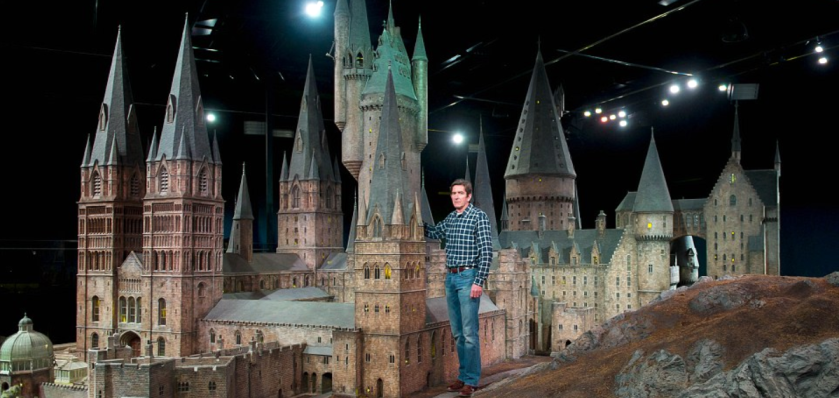 modello di Howgharts_London_Warner Bros Studios