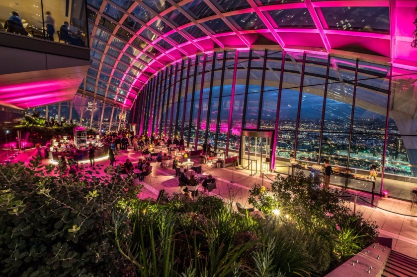 Sky Garden by Night London