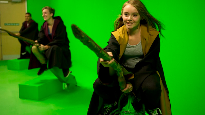 WB Studios_Harry Potter Green screen