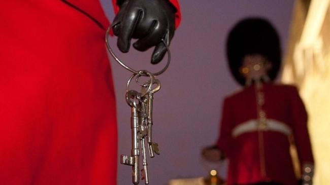 London Keys ceremony