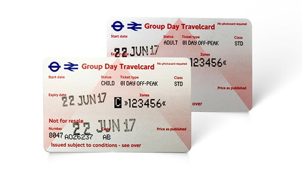 Group Day Travelcard