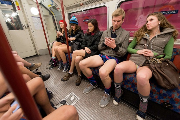 No Pants London
