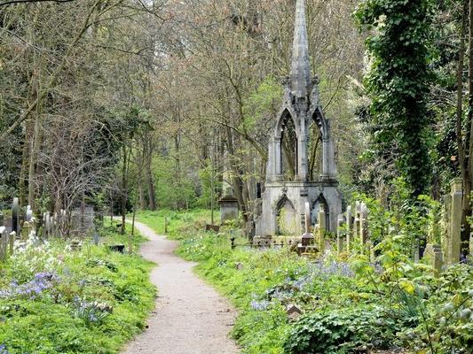 cimitero parco di Tower Hamlets_Londra