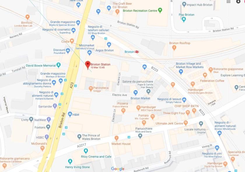 Brixton Map