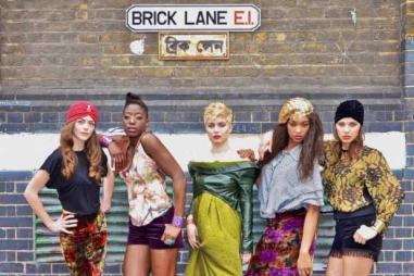 Modelle vintage a Brick Lane